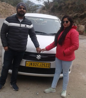 haneymoon trip from Mp to Kashmir