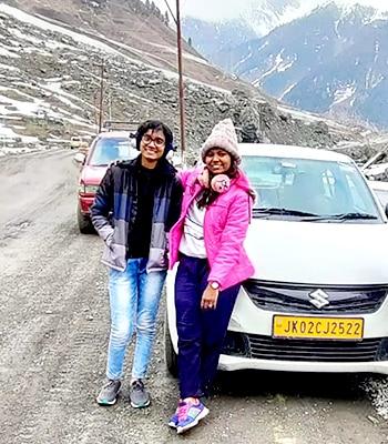 Pune to Kashmir trip
